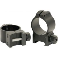 Warne Medium Tactical Rings w/Matte Finish 614M