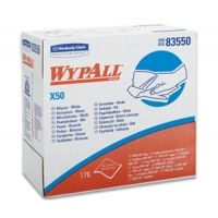 Wypall Case of X50 Wipers, 1/4 Fold