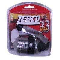 Multicolor Zebco 33N.CP3 33 Spincast Reel 10#C One Size