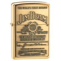 Zippo Jim Beam Classic Style Emblem Lighter