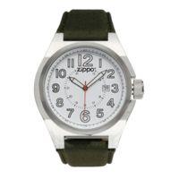 Zippo Sport Brushed Chrome Style Watch