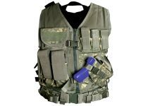 tactical vest to be used for carrying invisibility gear