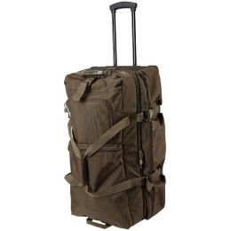 5 11 Tactical Mission Ready Rolling Duffle Bag Brown 56005
