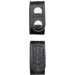 "Bianchi 23496 Black Key Clip 1/"" Dual Snap Belt Keeper"