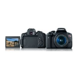 Canon Eos Rebel T6i Camera Kit With Ef S 18 55mm Is Stm