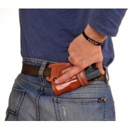 Cebeci Arms S&W Leather Small-of-the-Back, SoB, Holster