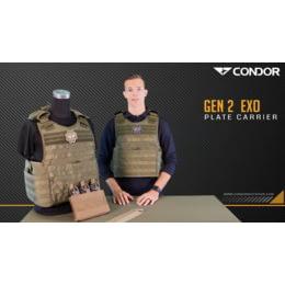 """42/"""" 50/"""" waist Condor Exo Plate Carrier Gen II Size"""