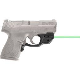 New Crimson Trace Laserguard Green Laser Sight Smith /& Wesson M/&P Shield LG-489G