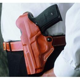 Leather OWB gun holster for Beretta Cougar 8000 9mm