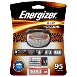 Headlight 200 Lumens Bright LED Torch 3 x AAA Batteries Energizer Vision HD