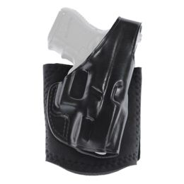 Galco Ankle Glove Handgun Ankle Holster, Ruger EC9S, Right hand, Premium  Steerhide with Neoprene Ankle Band Finish, Black, AG636B