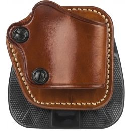 Galco Yaqui Paddle Holster - Right Hand - Tan YP252 — Color: Tan,  Fabric/Material: Leather, Holster Type: Paddle Holster, Hand: Right — YP252