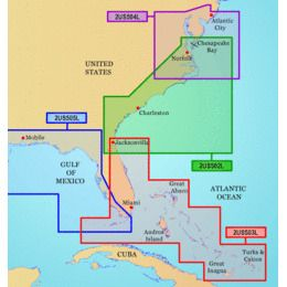 Garmin On The Water GPS Cartography BlueChart g2: Southeast