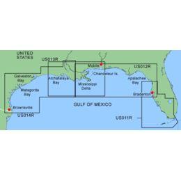 Garmin On The Water GPS Cartography BlueChart: Gulf of ... on