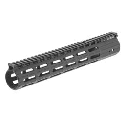 "Super Slim Mid 9/"" Inch Free Float M-LOK Handguard Rail System With Rail Sections"