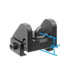 Leapers UTG Sub-Compact Rear Sight for Shotguns,  22 Rifles