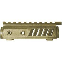 FAB Defense Upper Black/OD Green/Desert Tan Rail System for