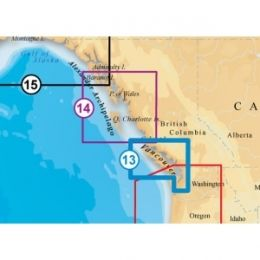 Navionics Platinum Plus Vancouver Island Digital Marine Map