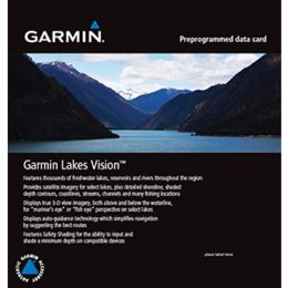 Garmin GPS Global Positioning System Lakes Mapping Update