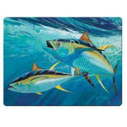 River S Edge Sailfish Gl Cutting Board Guy Harvey 1241