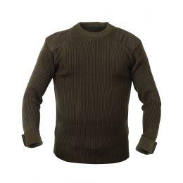 Rothco 8346 Khaki GI Style Acrylic Commando Sweater