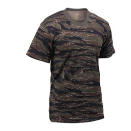 Large Urban Tiger Stripe Camo Rothco Camo T-Shirts