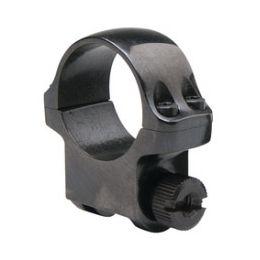 "1-Pack Ruger 90270 Medium Scope Ring Blued Fits 1/"" Diameter Tubes"
