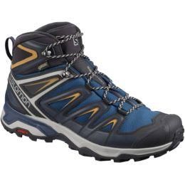 Details about {L39867400} SALOMON Men's X ULTRA 3 Mid GTX Hiking Shoes Black *NEW*