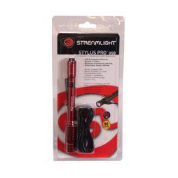Streamlight 66136 Stylus Pro® USB LED Rechargeable Pen Light RED