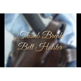 Tagua Gunleather Thumb Break Belt Holster