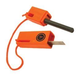 UST Spark Force Flint-Based Fire Starter Orange
