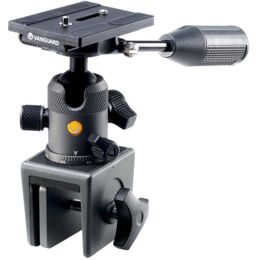 VANGUARD VEO2BH-50WM Metal Window Mount with Ball Head and Arca Compatible Quick Release Plate