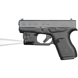 Viridian Reactor TL Tactical light for Glock 42 featuring ECR and Radiance  Includes Hybrid Belt Holster RTL-G42 — Color: Black, Light Output: 100,