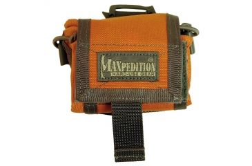 Maxpedition RollyPoly Folding Dump Pouch - Orange-Foliage 0208OF