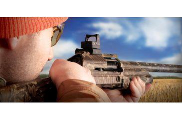 Rifle Red Dot Sight on a Shotgun