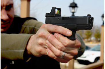 Red Dot Sight on a Handgun
