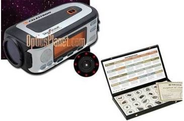 2-PC Astronomy Gift Package Celestron SkyScout Meade Meteorite Kit