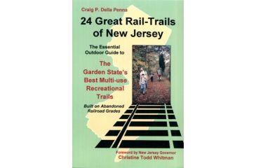 24 Grt Rail Trls Of Nj, Craig Penna, Publisher - New England Carto