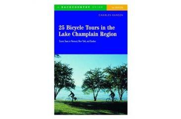 25 Bicycle Tours Lake Champlai, Charles Hansen, Publisher - W.w. Norton & Co