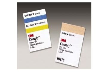 3M Steam Indicator Labels PK1000 00160