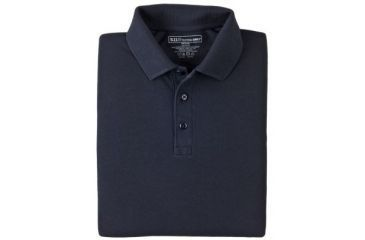 5.11 Tactical 42056 Professional Polo, Long Sleeve - Dark Navy, Extra Small