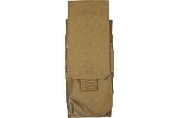 5.11 Stacked Single Mag Pouch w/ Cover 58705, Flat Dark Earth