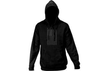 5.11 Tactical Men's Tonal Stars and Stripes Hoodie, Black, M 42182AC-19-M