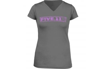 5.11 Tactical Women's Drill Master T-Shirt, Heather Grey, M 31004AH-16-M