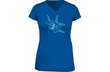 5.11 Tactical Women's Swallow T-Shirt, Royal Blue, M 31004AK-693-M