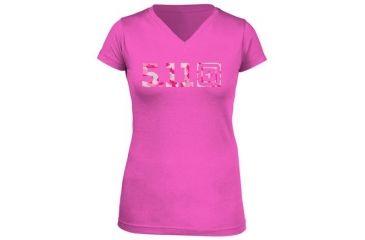 5.11 Tactical Women's Urban Assault T-Shirt, Pink, M 31004AI-502-M