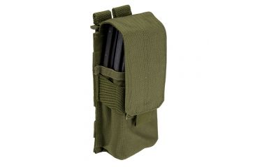 5.11 Tactical Stacked Single Mag w/ cover, Tac Od, 58705-188