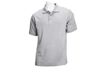 5.11 Tactical 71182-016 5.11 Tactical Tactical Polo Short Sleeve Heather Grey