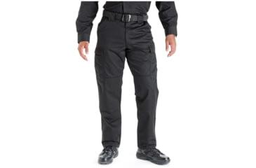 5.11 Tactical 74004 TDU Poly/Cotton Twill Pants, Black, 3XL, Short