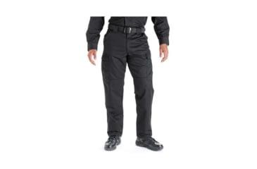 5.11 Tactical 74004 TDU Poly/Cotton Twill Pants, Black, Extra Large, Regular